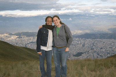 LaDonna and Sarah
