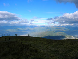 Prairie scenery in Quito from the Quito summer 2019 program.